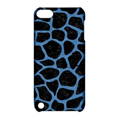 Skin1 Black Marble & Blue Colored Pencil (r) Apple Ipod Touch 5 Hardshell Case With Stand by trendistuff
