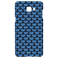 Scales3 Black Marble & Blue Colored Pencil (r) Samsung C9 Pro Hardshell Case  by trendistuff