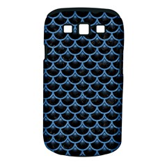 Scales3 Black Marble & Blue Colored Pencil Samsung Galaxy S Iii Classic Hardshell Case (pc+silicone) by trendistuff