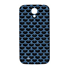Scales3 Black Marble & Blue Colored Pencil Samsung Galaxy S4 I9500/i9505  Hardshell Back Case by trendistuff