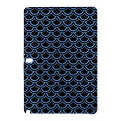 Scales2 Black Marble & Blue Colored Pencil Samsung Galaxy Tab Pro 12 2 Hardshell Case by trendistuff