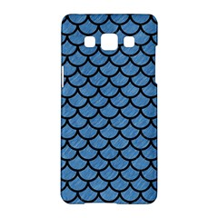 Scales1 Black Marble & Blue Colored Pencil (r) Samsung Galaxy A5 Hardshell Case  by trendistuff