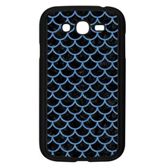 Scales1 Black Marble & Blue Colored Pencil Samsung Galaxy Grand Duos I9082 Case (black) by trendistuff