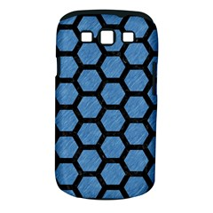 Hexagon2 Black Marble & Blue Colored Pencil (r) Samsung Galaxy S Iii Classic Hardshell Case (pc+silicone) by trendistuff