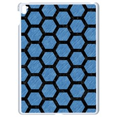 Hexagon2 Black Marble & Blue Colored Pencil (r) Apple Ipad Pro 9 7   White Seamless Case by trendistuff