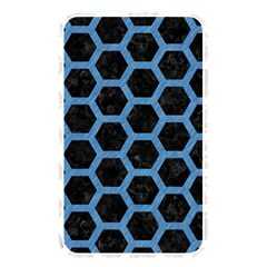 Hexagon2 Black Marble & Blue Colored Pencil Memory Card Reader (rectangular) by trendistuff