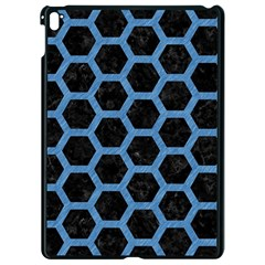 Hexagon2 Black Marble & Blue Colored Pencil Apple Ipad Pro 9 7   Black Seamless Case by trendistuff