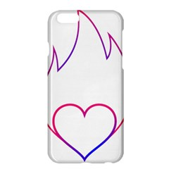 Heart Flame Logo Emblem Apple Iphone 6 Plus/6s Plus Hardshell Case