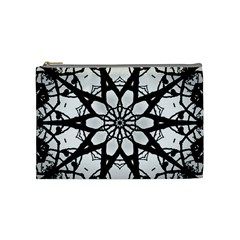 Pattern Abstract Fractal Cosmetic Bag (medium)  by Nexatart