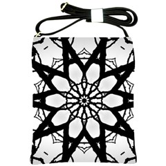 Pattern Abstract Fractal Shoulder Sling Bags