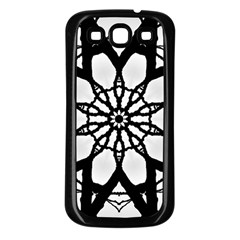 Pattern Abstract Fractal Samsung Galaxy S3 Back Case (black)