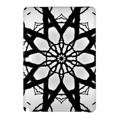 Pattern Abstract Fractal Samsung Galaxy Tab Pro 12 2 Hardshell Case by Nexatart