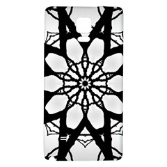 Pattern Abstract Fractal Galaxy Note 4 Back Case by Nexatart