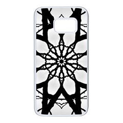 Pattern Abstract Fractal Samsung Galaxy S7 White Seamless Case