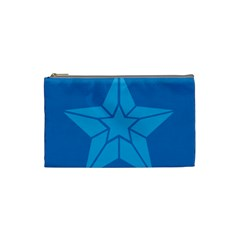 Star Design Pattern Texture Sign Cosmetic Bag (small)  by Nexatart