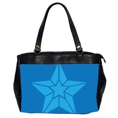 Star Design Pattern Texture Sign Office Handbags (2 Sides)