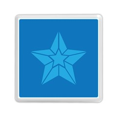 Star Design Pattern Texture Sign Memory Card Reader (square)