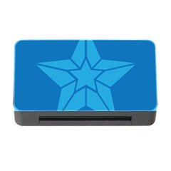 Star Design Pattern Texture Sign Memory Card Reader With Cf by Nexatart