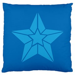 Star Design Pattern Texture Sign Large Cushion Case (two Sides) by Nexatart