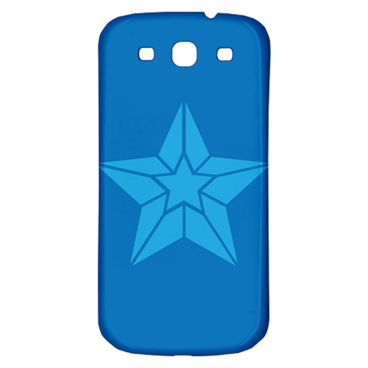 Star Design Pattern Texture Sign Samsung Galaxy S3 S III Classic Hardshell Back Case