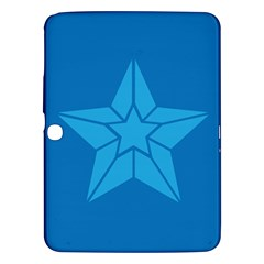 Star Design Pattern Texture Sign Samsung Galaxy Tab 3 (10 1 ) P5200 Hardshell Case  by Nexatart