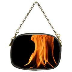 Fire Flame Pillar Of Fire Heat Chain Purses (two Sides)