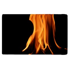 Fire Flame Pillar Of Fire Heat Apple Ipad 3/4 Flip Case by Nexatart