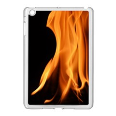 Fire Flame Pillar Of Fire Heat Apple Ipad Mini Case (white) by Nexatart