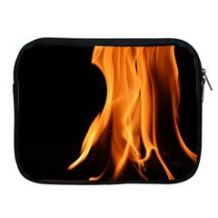 Fire Flame Pillar Of Fire Heat Apple Ipad 2/3/4 Zipper Cases by Nexatart