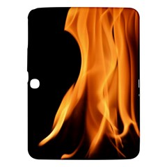 Fire Flame Pillar Of Fire Heat Samsung Galaxy Tab 3 (10 1 ) P5200 Hardshell Case  by Nexatart