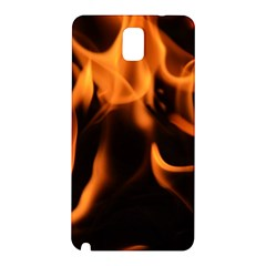 Fire Flame Heat Burn Hot Samsung Galaxy Note 3 N9005 Hardshell Back Case by Nexatart