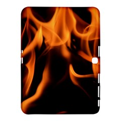 Fire Flame Heat Burn Hot Samsung Galaxy Tab 4 (10 1 ) Hardshell Case