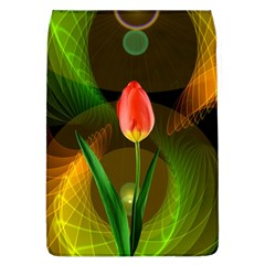 Tulip Flower Background Nebulous Flap Covers (l)