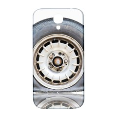 Flat Tire Vehicle Wear Street Samsung Galaxy S4 I9500/i9505  Hardshell Back Case by Nexatart
