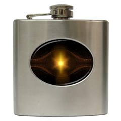 Background Christmas Star Advent Hip Flask (6 Oz) by Nexatart