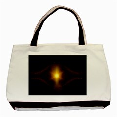 Background Christmas Star Advent Basic Tote Bag by Nexatart