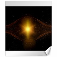 Background Christmas Star Advent Canvas 8  X 10  by Nexatart