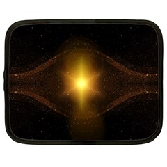 Background Christmas Star Advent Netbook Case (xl)  by Nexatart