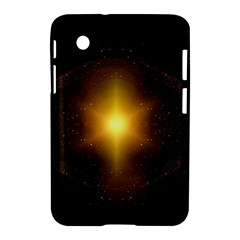 Background Christmas Star Advent Samsung Galaxy Tab 2 (7 ) P3100 Hardshell Case  by Nexatart