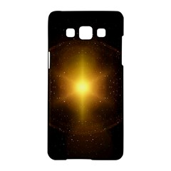 Background Christmas Star Advent Samsung Galaxy A5 Hardshell Case  by Nexatart