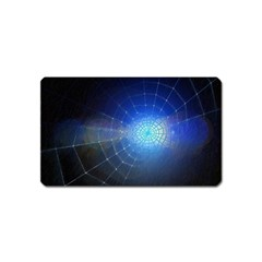 Network Cobweb Networking Bill Magnet (name Card) by Nexatart