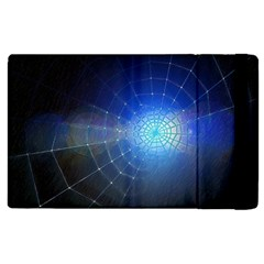 Network Cobweb Networking Bill Apple Ipad 2 Flip Case by Nexatart