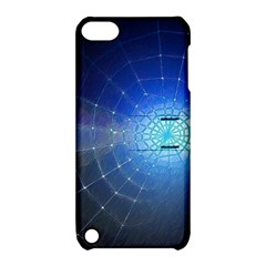Network Cobweb Networking Bill Apple Ipod Touch 5 Hardshell Case With Stand by Nexatart
