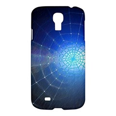 Network Cobweb Networking Bill Samsung Galaxy S4 I9500/i9505 Hardshell Case by Nexatart
