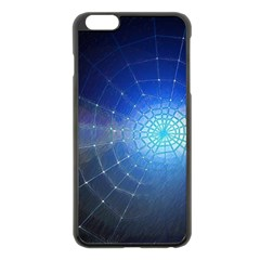 Network Cobweb Networking Bill Apple Iphone 6 Plus/6s Plus Black Enamel Case by Nexatart