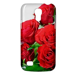 A Bouquet Of Roses On A White Background Galaxy S4 Mini by Nexatart