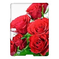 A Bouquet Of Roses On A White Background Samsung Galaxy Tab S (10 5 ) Hardshell Case  by Nexatart
