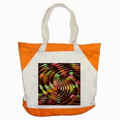 Wave Rings Circle Abstract Accent Tote Bag