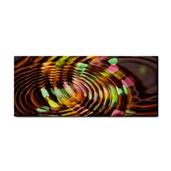 Wave Rings Circle Abstract Cosmetic Storage Cases by Nexatart