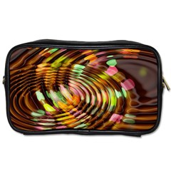 Wave Rings Circle Abstract Toiletries Bags 2 Side